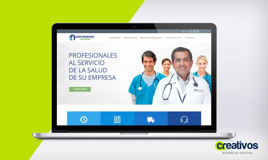 pagina-web-en-manta-servimedicorp