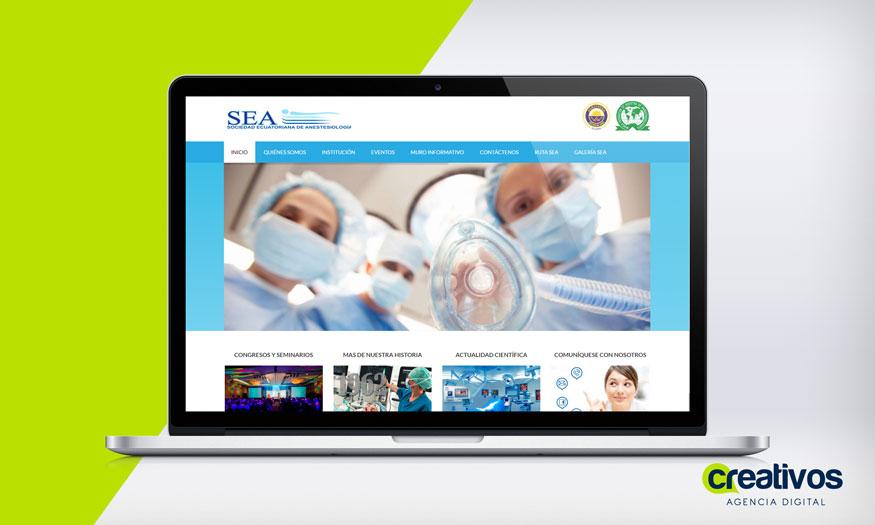 pagina-web-en-manta-sociedad-ecuatoriana-de-anestesiologia